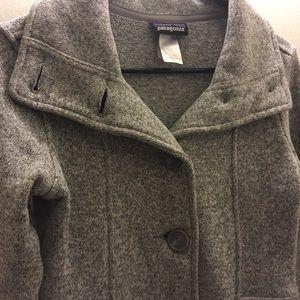 Patagonia grey coat